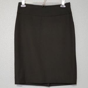 The limited office black pencil skirt